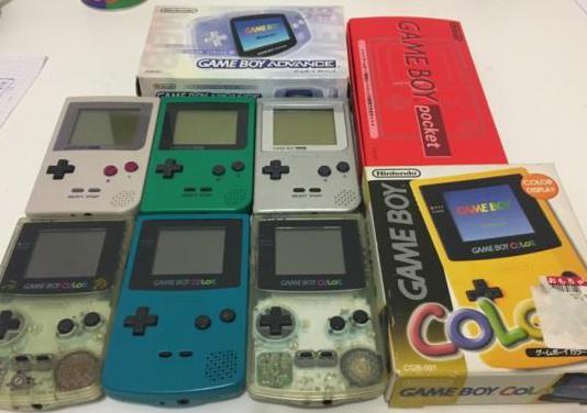 Colección de game boys