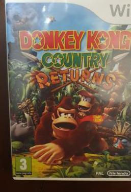 Donkey kong country: returns wii videojuego