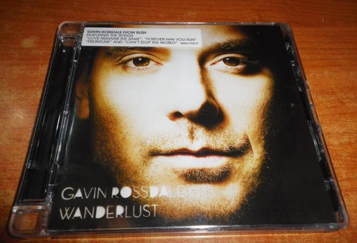 Gavin rossdale wanderlust cd album del año 2008 eu contiene