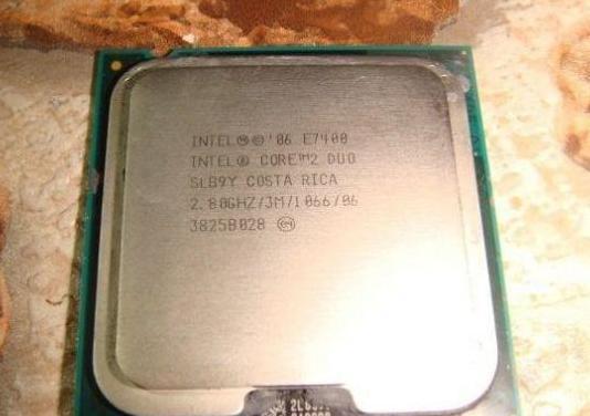 Intel® core2 duo processor e7400
