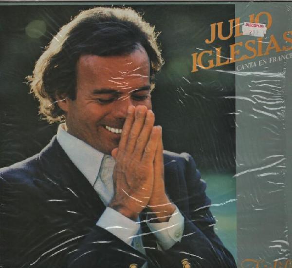 Julio iglesias canta en francés lp