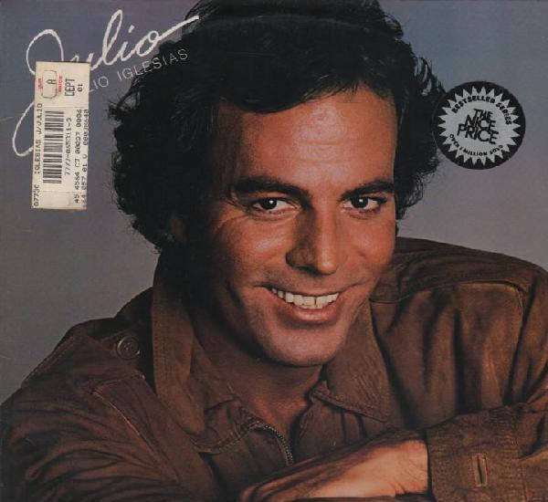 Julio iglesias canta en varios idiomas lp de 1983