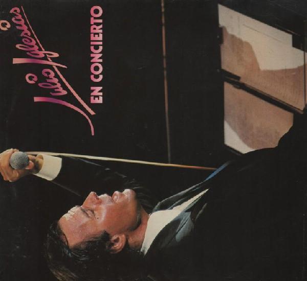 Julio iglesias doble lp concierto del 1983