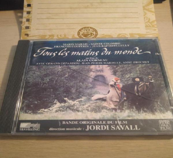 Jordi savall - tous les matins du monde - cd - 1991