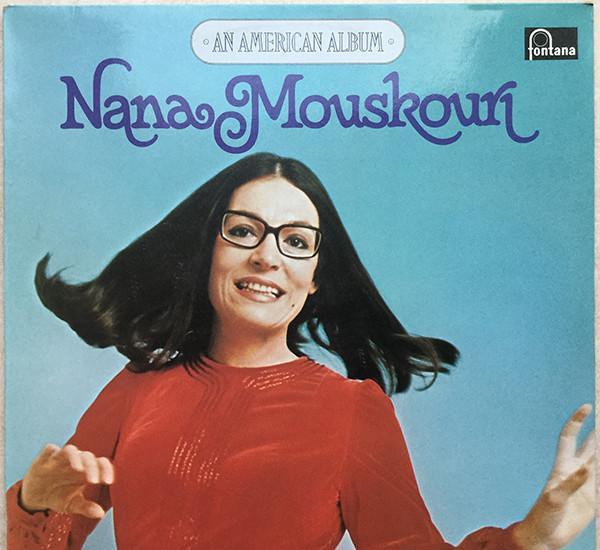 Lp nana mouskouri – an american album - fontana 6830