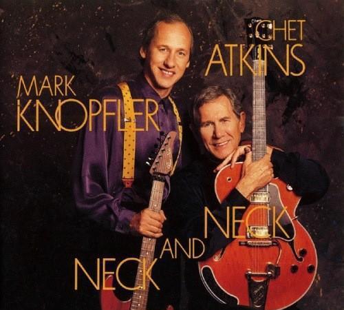 Mark knopfler. chet atkins. neck and neck. cd.
