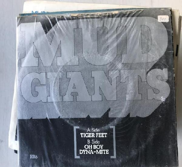 Mud - tiger feet - single rak uk 1977