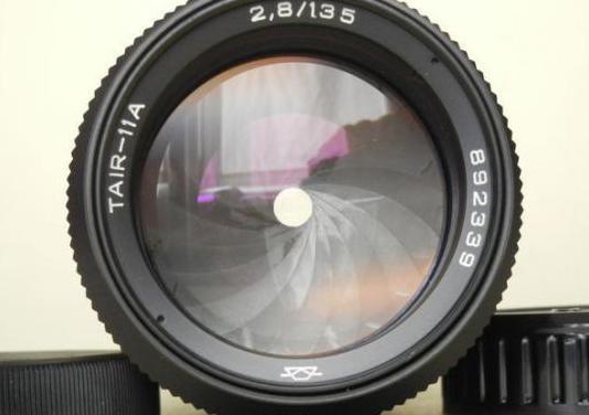 Objetivo tair-11a 135mm f2,8 (montura minolta md)