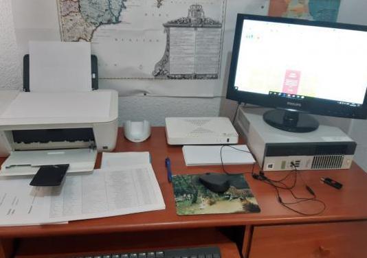 Ordenador completo con impresora