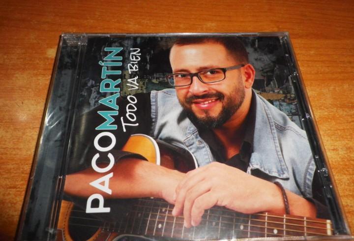 Paco martin todo va bien cd album precintado del año 2018
