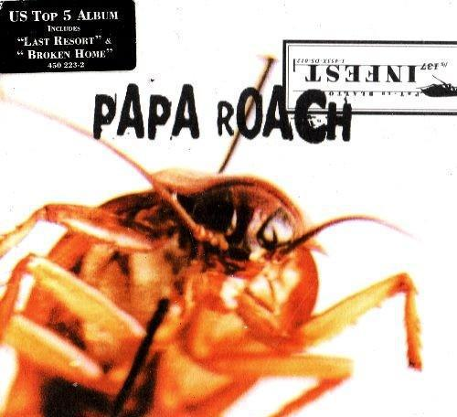 Papa roach. infest. cd.