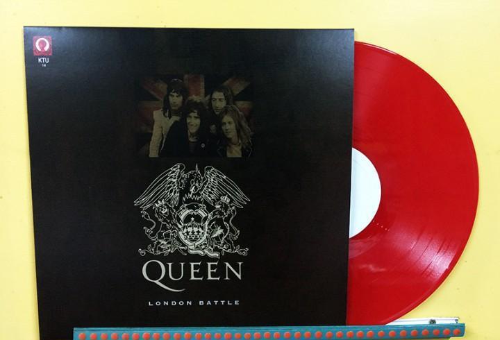 Queen lp london battle vinilo color rojo live rainbow
