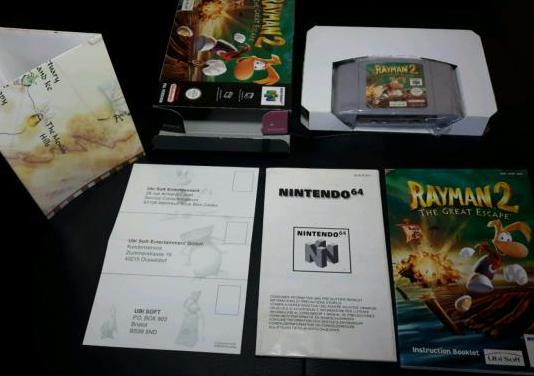 Rayman 2 nintendo 64