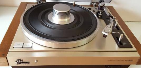 Sansui fr-4060 plato tocadiscos vintage