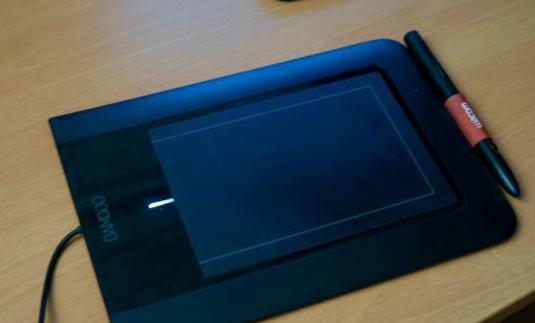 Tableta tactil y lapiz bamboo fun pen ctl-460