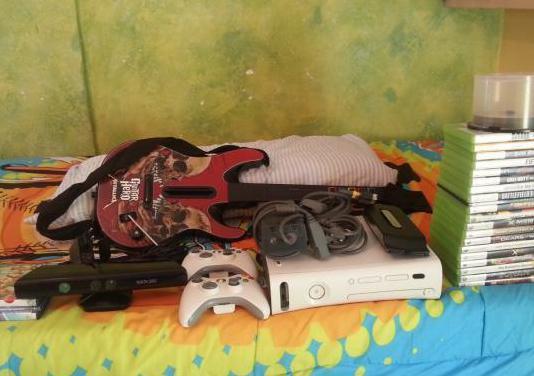 Xbox 360 kinnect disco duro de 250gb juegos