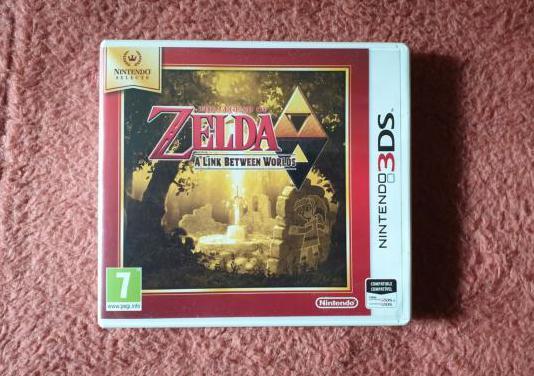 Zelda: a link between worlds (3ds)