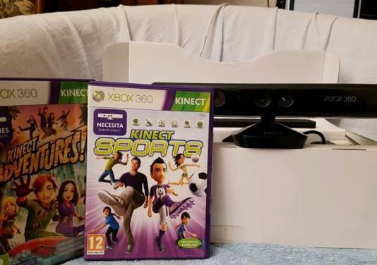 Kinect para xbox 360 2 juegos