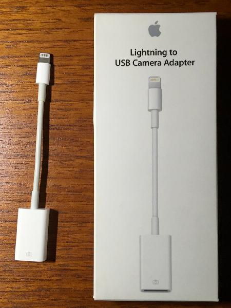 Adaptador lightning a usb