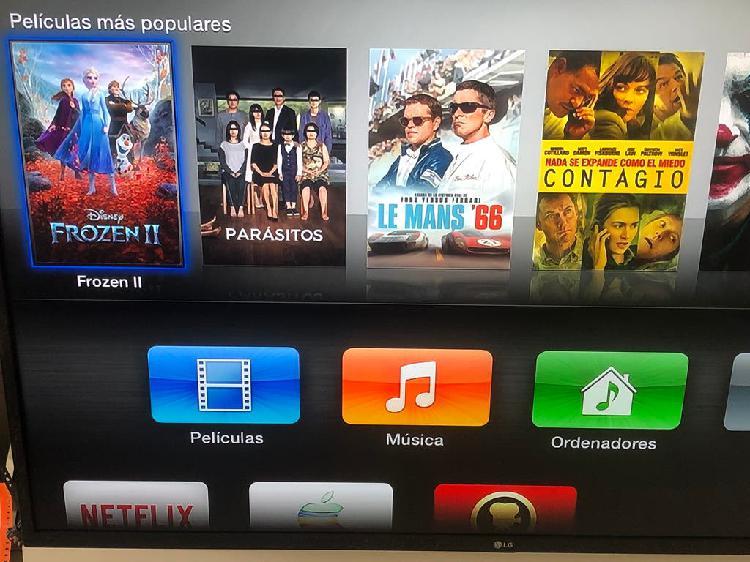 "Apple tv + televisión tv lg 32"" pulgadas"