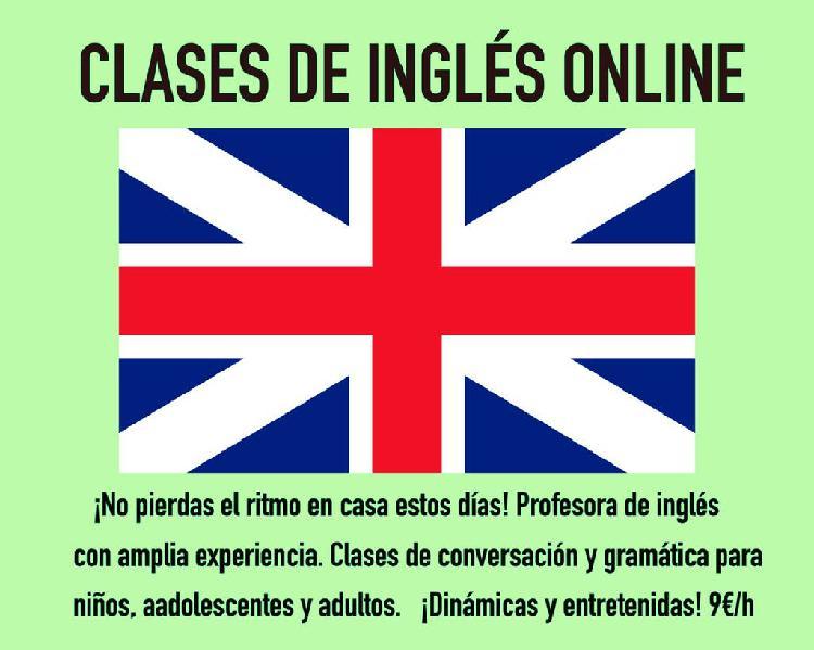 Clases de inglés online!
