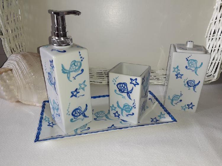 Dosificador jabón peces