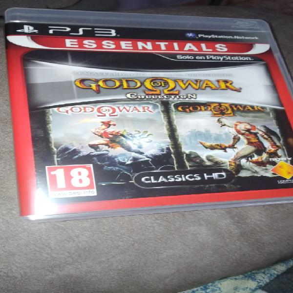 God of war collection hd ps3