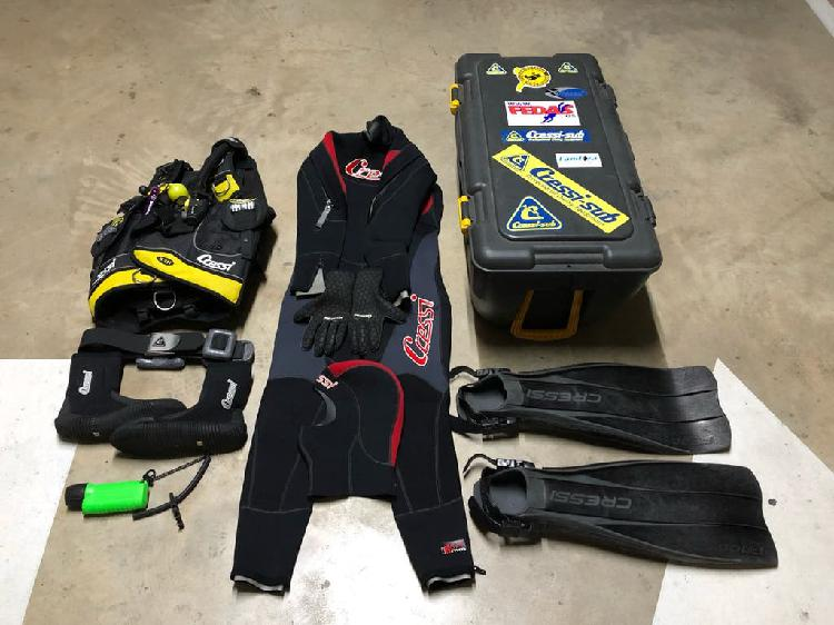 Impecable-equipo completo submarinismo (buceo)
