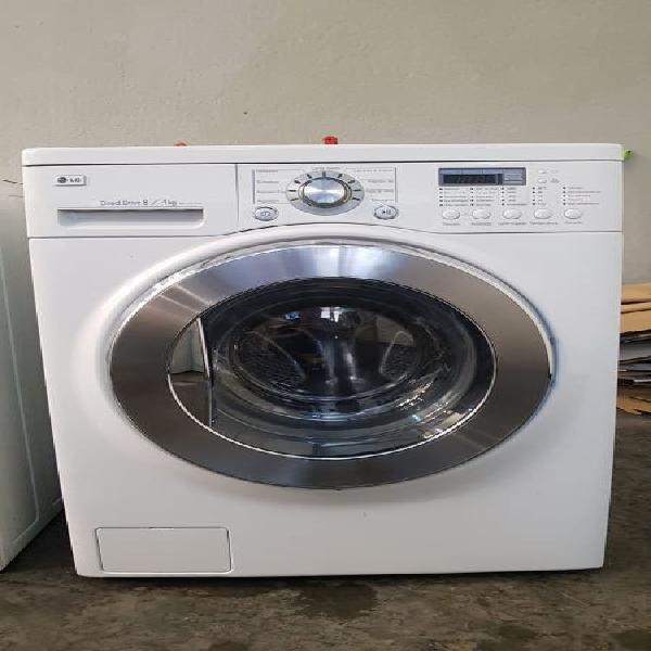 Lavadora secadora lg 8 k 1200 rpm garantia llevo