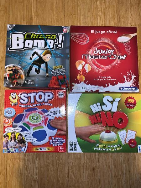 Lote juegos mesa