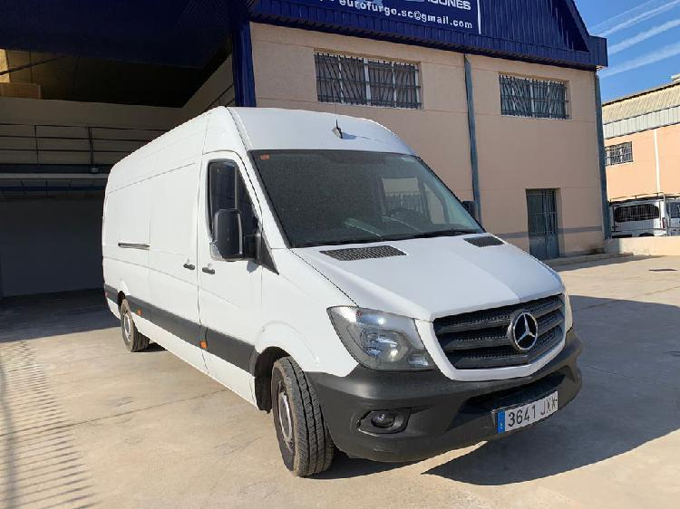 Mercedes sprinter extralargo