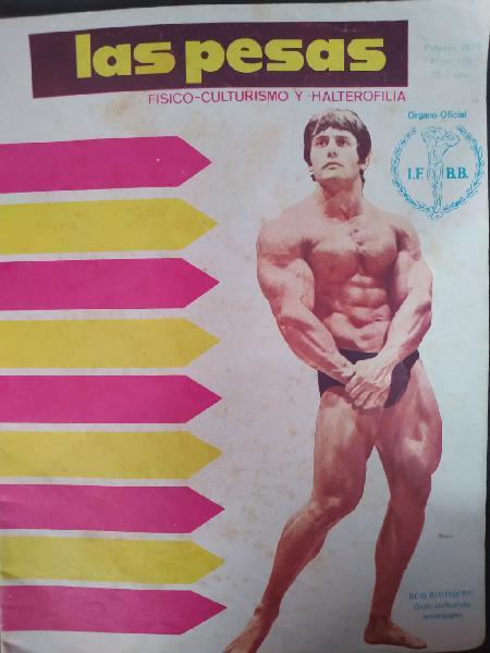 Revistas culturismo años 70