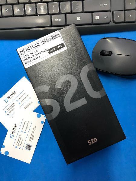 Samsung s20 128gb cosmic gray - precintado