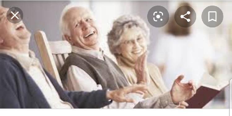 Se cuida personas mayores y hago compras