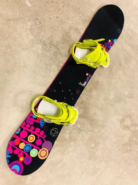 Tabla snowboard burton y botas snow