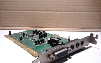 Tarjeta de sonido sound blaster vibra16 mod. ct4180 isa de