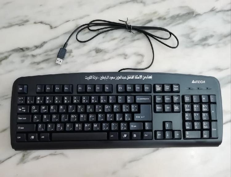 Teclado ordenador a4tech