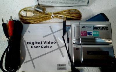 Video cámara digital mxjvc pc-1016d dv7000