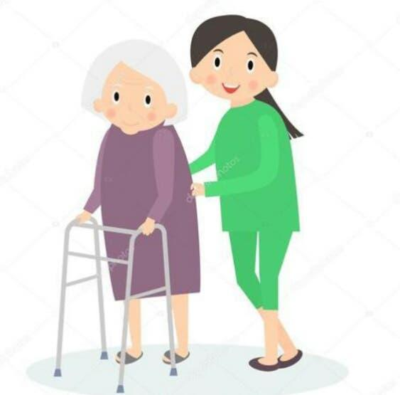 Cuidado de personas mayores limpieza hogar