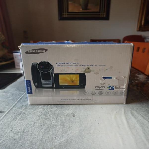 Video cámara cd samsung