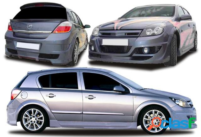 Kit completo opel astra h punisher