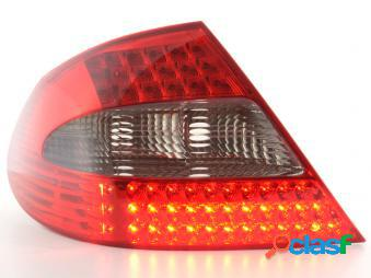 Kit de pilotos traseros led mercedes benz clase c 200/240/320 modelo w