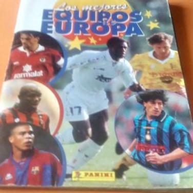 Albun de los mejores equipos de europa. 96-97.