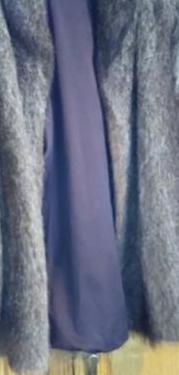 Abrigo corto de piel de nutria talla 50