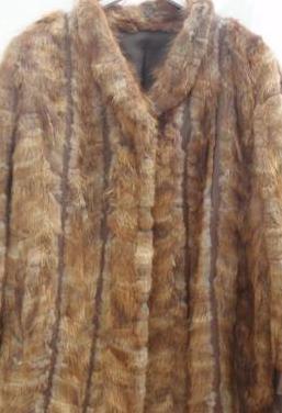 Abrigo/chaquetón de piel marta cibelina