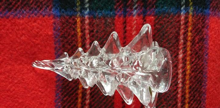 Arbol de navidad en cristal