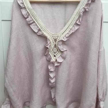 Blusa rosa original zara