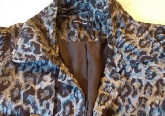 Cazadora y gabardinas leopardo talla s