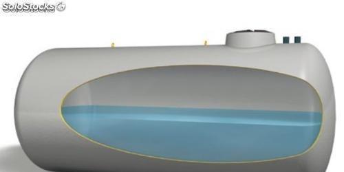 Deposito agua potable horizontal enterrar 25000 litros