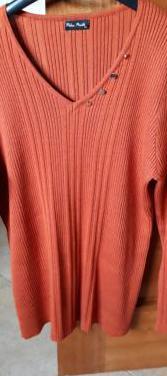 Jersey de manga larga señora